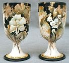 Celee Evans Porcelain: Wedding Goblets